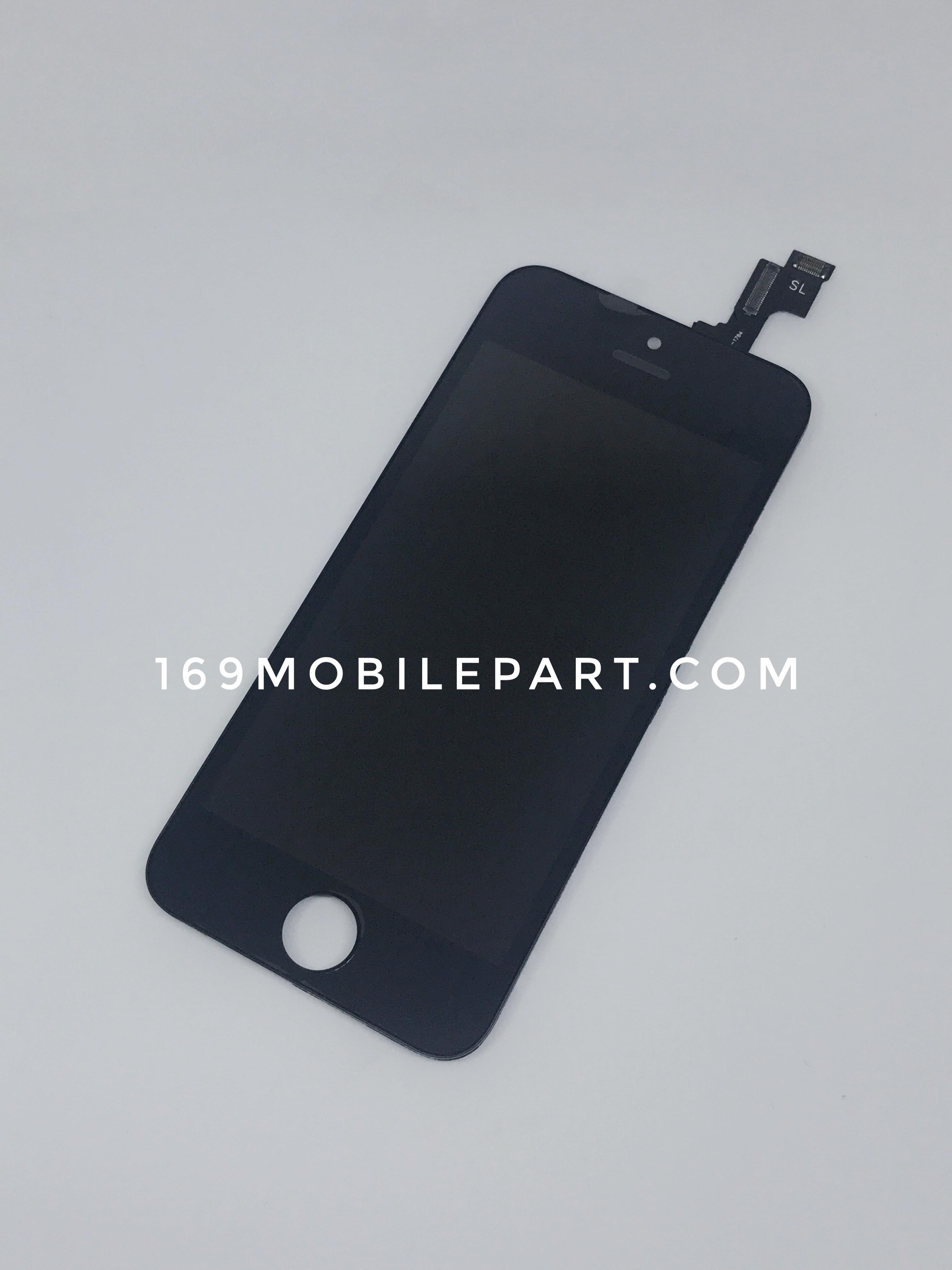 หน้าจอ iPhone 5S พร้อมทัช สีดำ งาน OEM