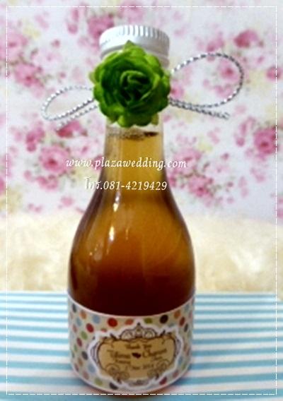 น้ำผึ้ง 1.5 ออนซ์ คาดสายคาด+ดอกไม้+แทค