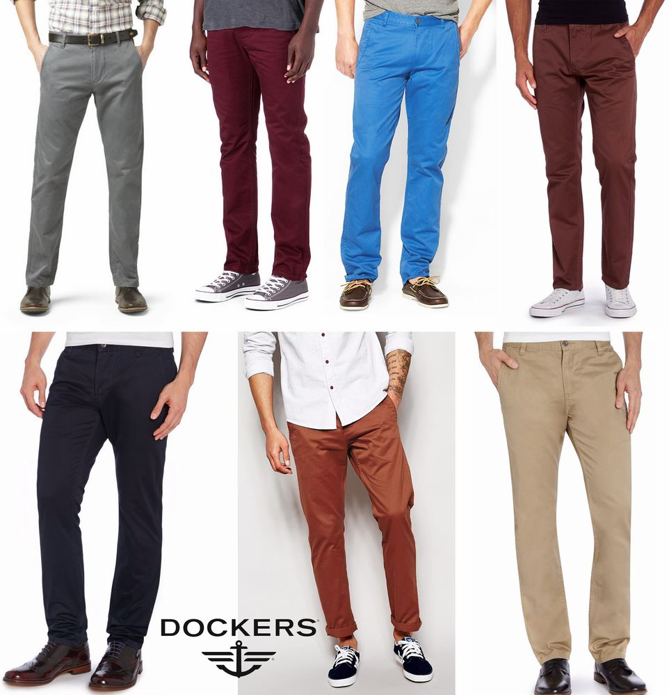 Dockers Alpha Slim - Stretch Pant ( NEW UPDATE 20-05-59 )