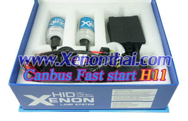 ไฟXenon kit H11 Canbus AC35W Fast start