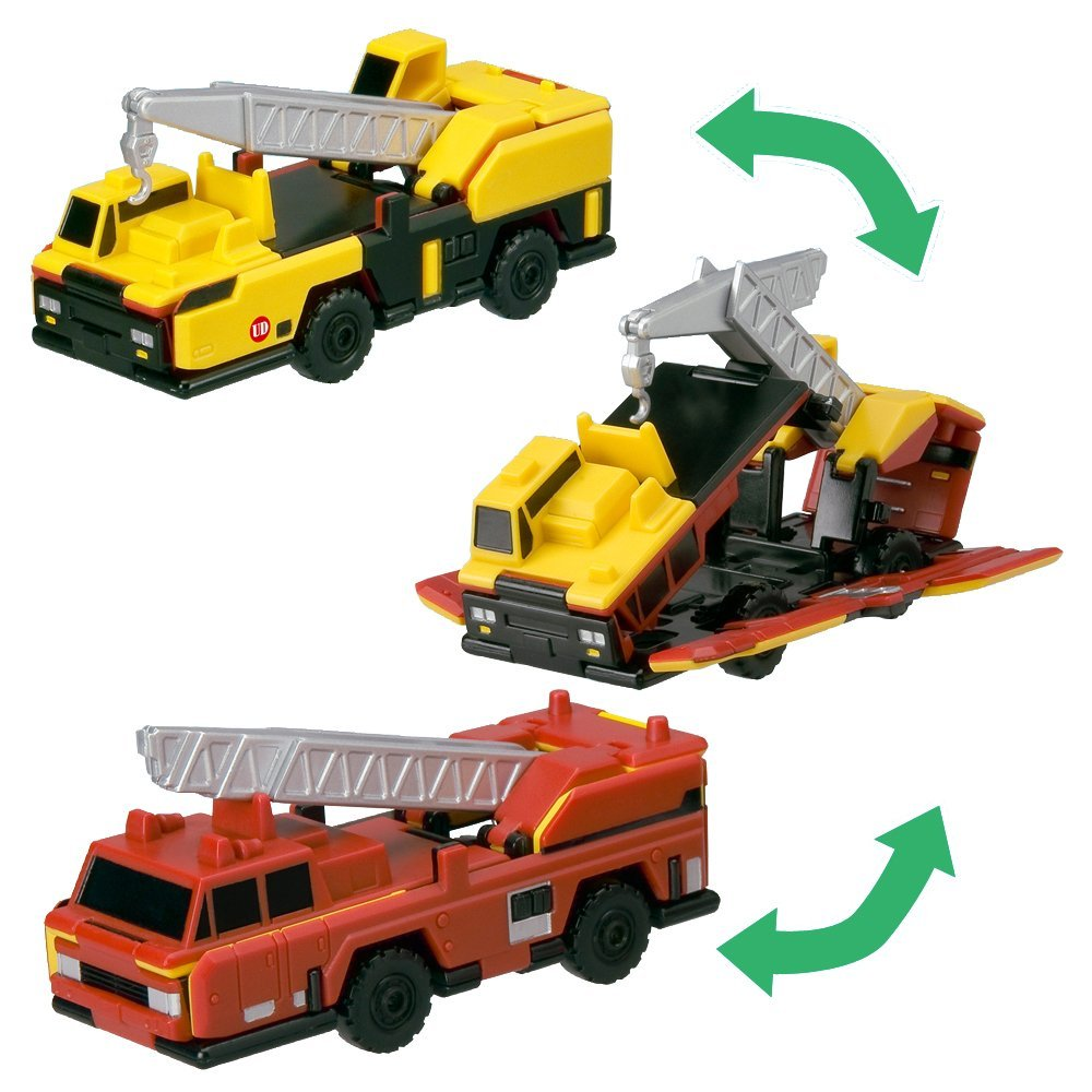 Bandai VooV VM02 [UD Trucks - Crane and Ladder Truck]