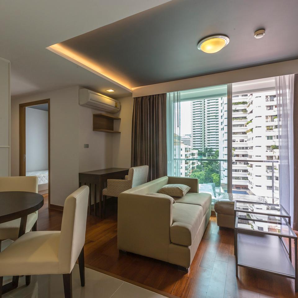 ให้เช่าคอนโด Inter Lux Residence (อินเตอร์ ลักส์ พรีเมียร์ สุขุมวิท 13) 2 ห้องนอน 2 ห้องน้ำ