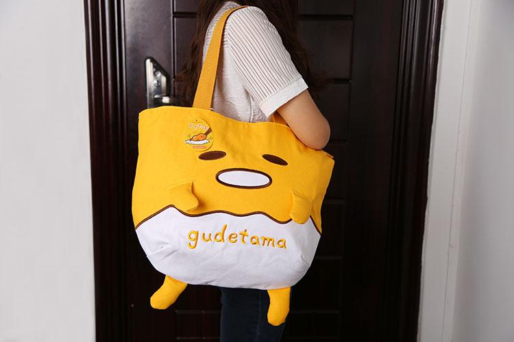 Preorder กระเป๋าถือไข่ขี้เกียจ Gudetama