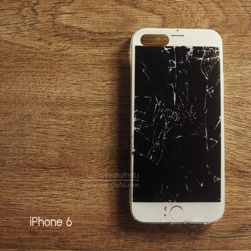 เคส iPhone 6 , 6s (4.7 นิ้ว) เคสนิ่ม TPU (Old School Series) ลาย หน้าจอแตก