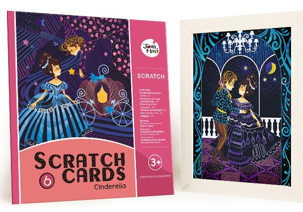 Scratch Cards - Cinderella การ์ดศิลปะขูด ชุดซินเดอเรล่า