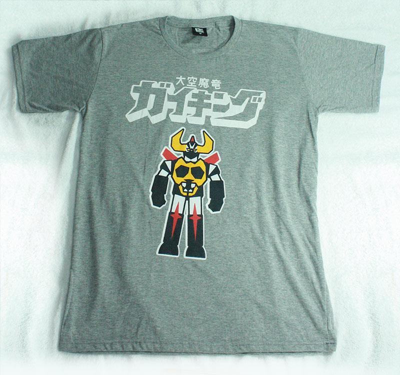 T-Shirt เสื้อยืดกันดั้ม ซุปเปอร์โรบ็อท ไกคิง Super Robot Gaiking สุดเท่ห์ สีเทา จากร้าน GUNZU !!โปรโมชั่น