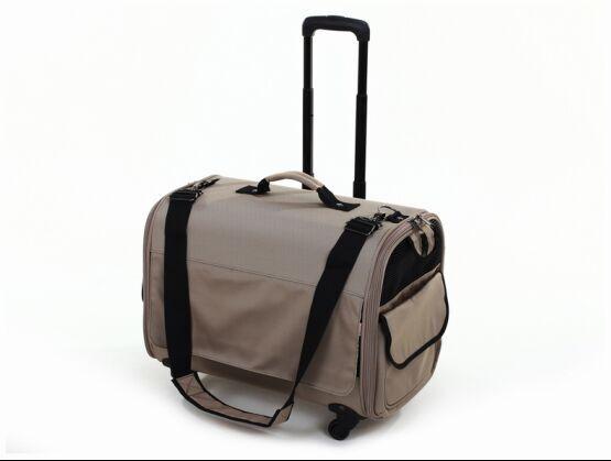 กระเป๋าใส่สุนัข กระเป๋าใส่แมว แบบลาก