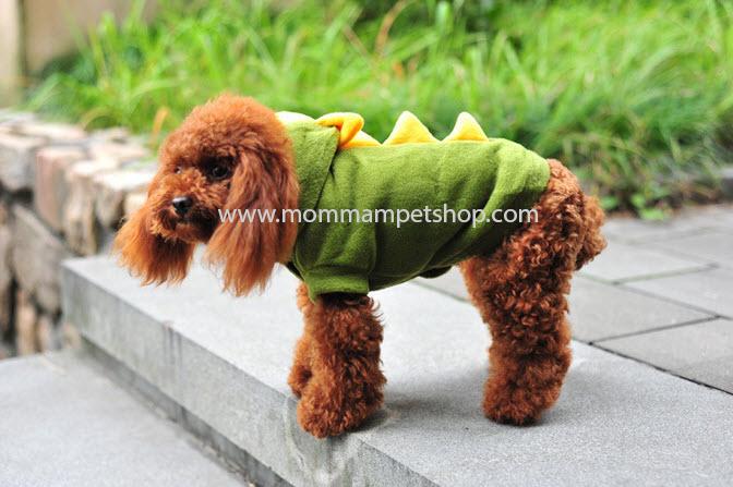 เสื้อสุนัข ลายไดโนเสาร์