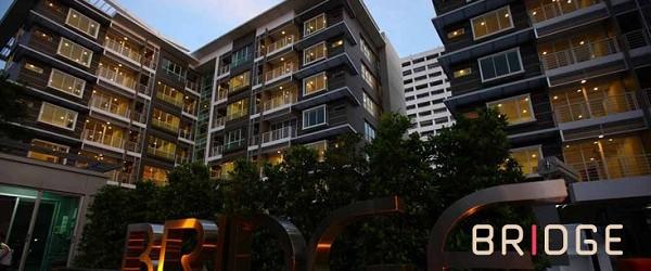 คอนโด Bridge Condominium ซ.พหลโยธิน 37 ให้เช่า 22000 ต่อเดือน 2 ห้องนอน 2 ห้องน้ำ