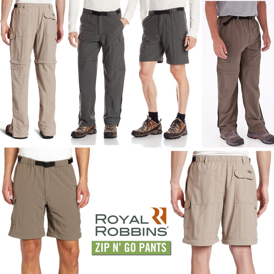 Royal Robbins Men's Zip N Go Pants