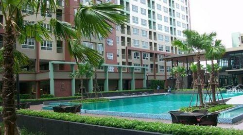 ห้เช่า คอนโด ลุมพินี เพลส รัชโยธิน Lumpini Place Ratchayothin 1 ห้องนอน พื้นที่ 30 ตร ม ตึกบี