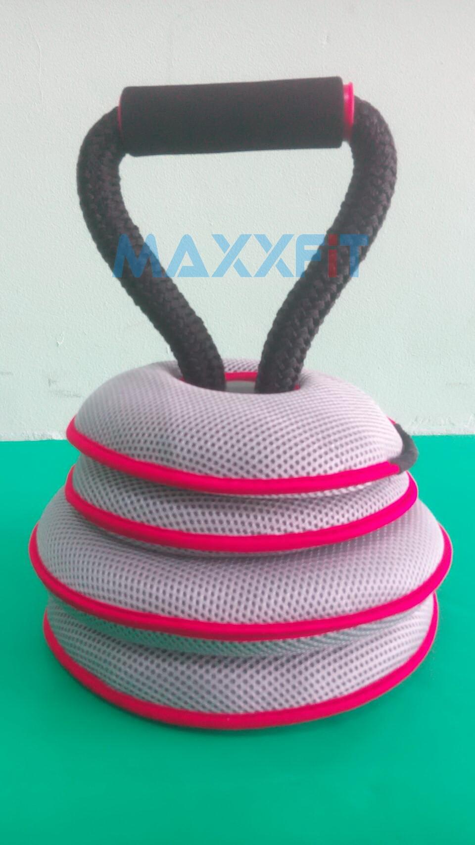 ขาย Kettle Bell แบบผ้า 10 KG. Soft Adjustable สามารถปรับเปลี่ยนน้ำหนักได้