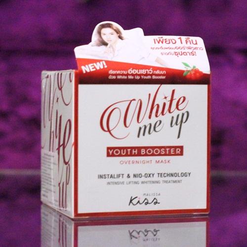 ไวท์มีอัพ ยูธ บูสเตอร์ โอเวอร์ไนท์มาส์ก Malissa Kiss White Me Up Youth Booster Over Night Mask