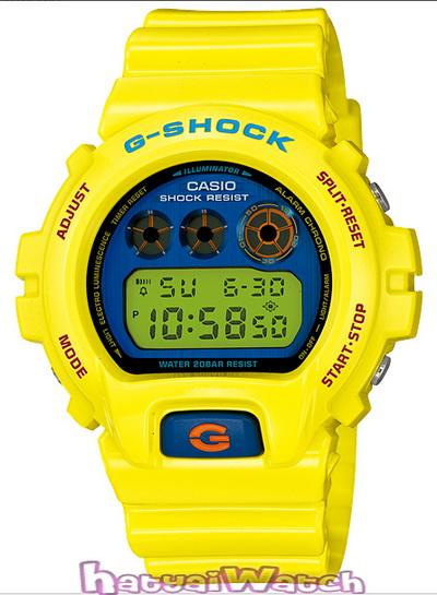 นาฬิกา คาสิโอ Casio G-Shock Limited Models รุ่น DW-6900PL-9DR สินค้าใหม่ ของแท้ ราคาถูก พร้อมใบรับประกัน