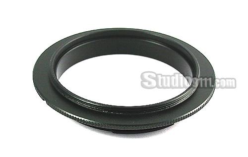 Reverse Ring แหวนกลับเลนส์ถ่ายมาโคร 58mm for CANON EOS M