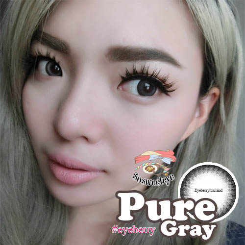 สั้น/power -275 PURE GRAY EYEBERRYLENS