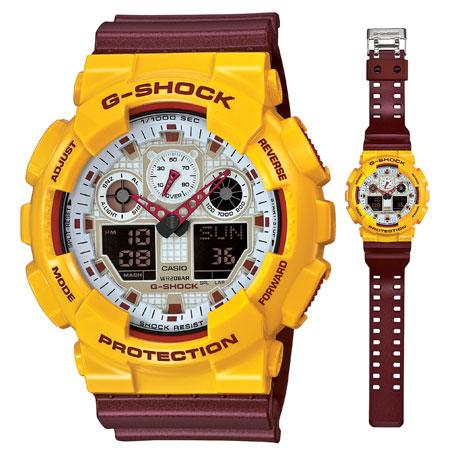 นาฬิกา คาสิโอ Casio G-Shock Limited Models รุ่น GA-100CS-9A สินค้าใหม่ ของแท้ ราคาถูก พร้อมใบรับประกัน
