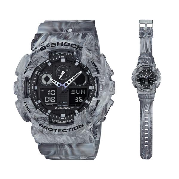 นาฬิกา คาสิโอ Casio G-Shock Special Color Models รุ่น GA-100MM-8A สินค้าใหม่ ของแท้ ราคาถูก พร้อมใบรับประกัน