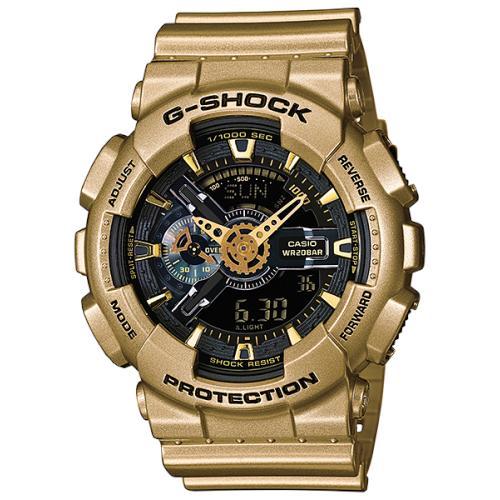 นาฬิกา คาสิโอ Casio G-Shock Limited Models Crazy Gold รุ่น GA-110GD-9B สินค้าใหม่ ของแท้ ราคาถูก พร้อมใบรับประกัน