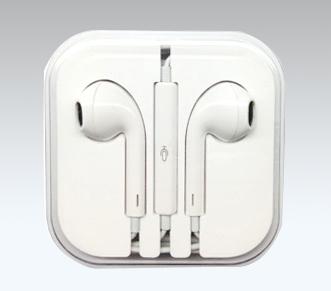 หูฟัง Earpods ใช้กับ iphone samsung สีขาว