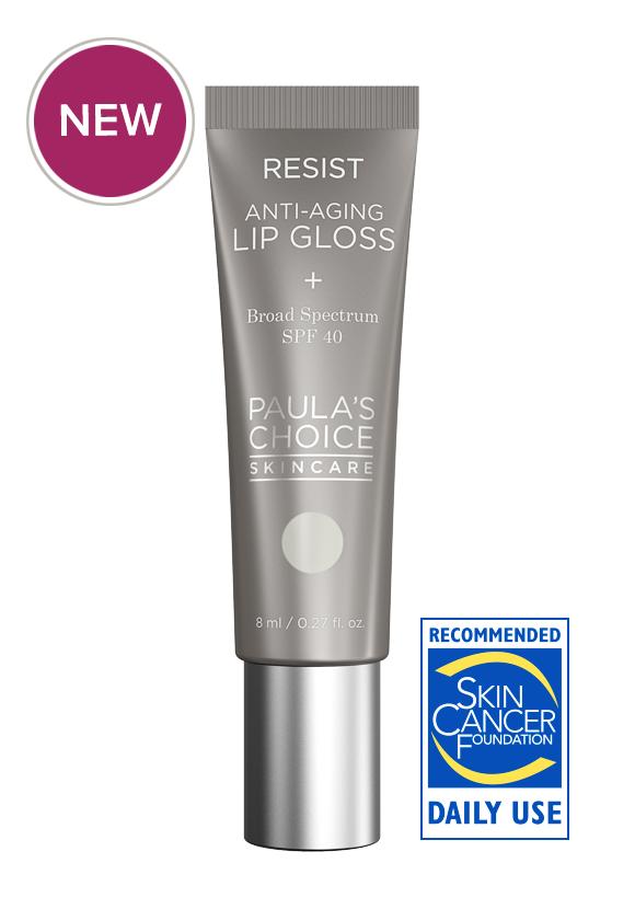 ลด 20 % PAULA'S CHOICE :: Resist Anti-Aging Lip Gloss SPF 40 ลิปกลอสกันแดด เนื้อวาววับ ไม่เหนียวเหนอะหนะ ริมฝีปากชุ่มชื่น ลดเลือนริ้วรอย ต่อต้านอนุมูลอิสระ พร้อมป้องกันแสงแดด