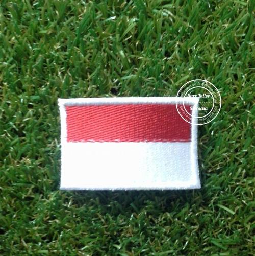 อาร์มปักธงอินโดนีเซีย