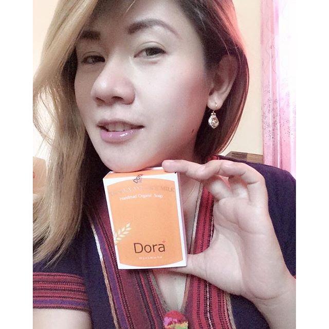 สบู่ ลดฝ้า Dora+ Tanaka and Rice Milk Soap สบู่ทานาคา น้ำนมข้าว