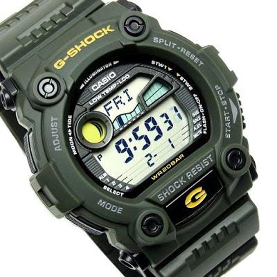 นาฬิกา คาสิโอ Casio G-Shock Standard Digital รุ่น G-7900-3DR สินค้าใหม่ ของแท้ ราคาถูก พร้อมใบรับประกัน