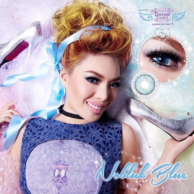 Nobluk Blue Dreamcolor1 คอนแทคเลนส์ ขายส่งคอนแทคเลนส์ Bigeyeเกาหลี ขายส่งตลับคอนแทคเลนส์ ขายส่งน้ำยาล้างคอนแทคเลนส์