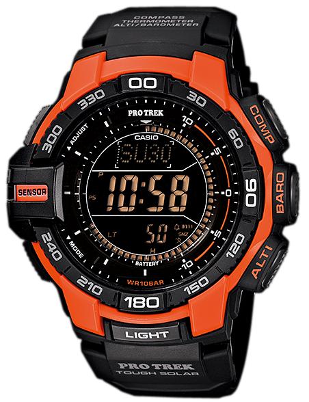 นาฬิกา คาสิโอ Casio Protrek Triple Sensor รุ่น PRG-270-4A สินค้าใหม่ ของแท้ ราคาถูก พร้อมใบรับประกัน สำเนา