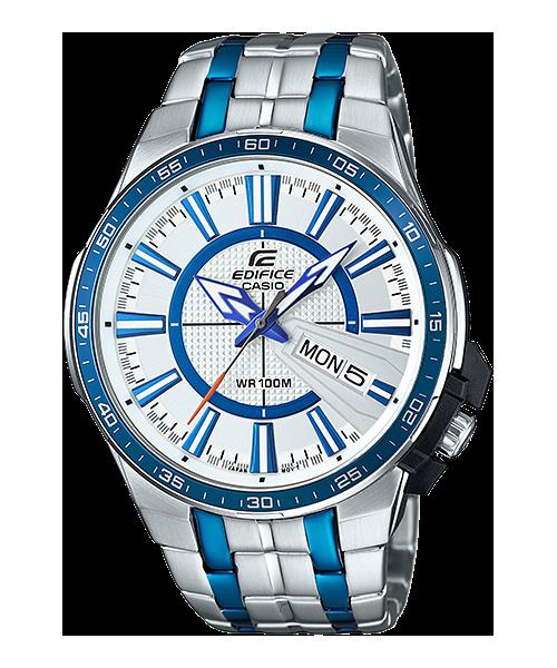 นาฬิกา คาสิโอ Casio Edifice 3-Hand Analog รุ่น EFR-106BB-7AV สินค้าใหม่ ของแท้ ราคาถูก พร้อมใบรับประกัน