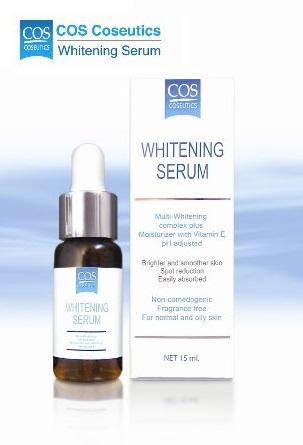 COS COSEUTICS :: Whitening Serum สกัดจากผลไม้เข้มข้น เผยผิวกระจ่างใสอย่างอ่อนโยน ความหมองคล้ำและจุดด่างดำดูจางลง