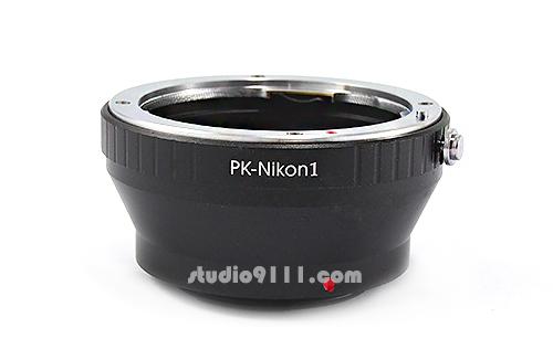 อแดปเตอร์แปลงท้ายเลนส์ PK (PENTAX) ใช้กับกล้อง NIKON 1