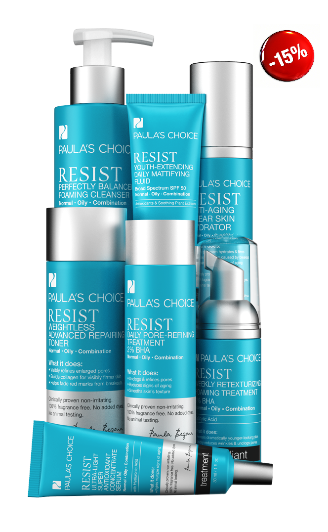 PAULA'S CHOICE Resist Advanced Kit for Wrinkles + Breakouts