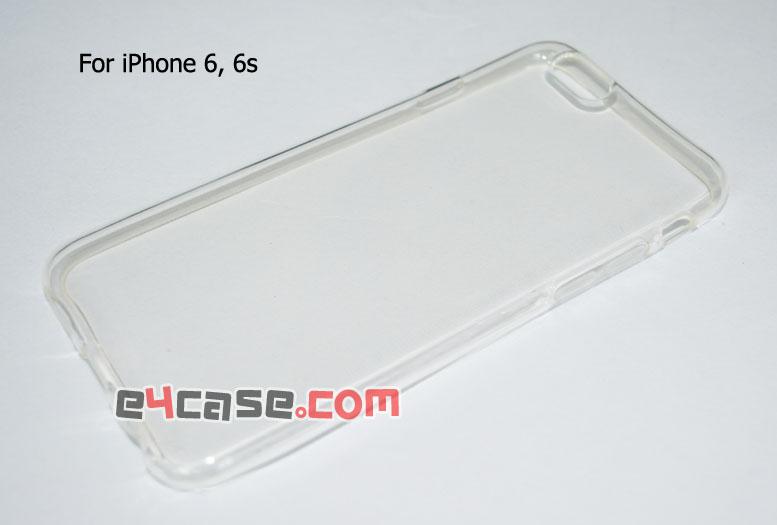 เคส iPhone 6, iPhone 6s - เคสยางใส มีดอท