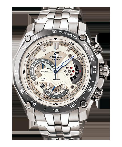 นาฬิกา คาสิโอ Casio Edifice Chronograph รุ่น EF-550D-7AV สินค้าใหม่ ของแท้ ราคาถูก พร้อมใบรับประกัน