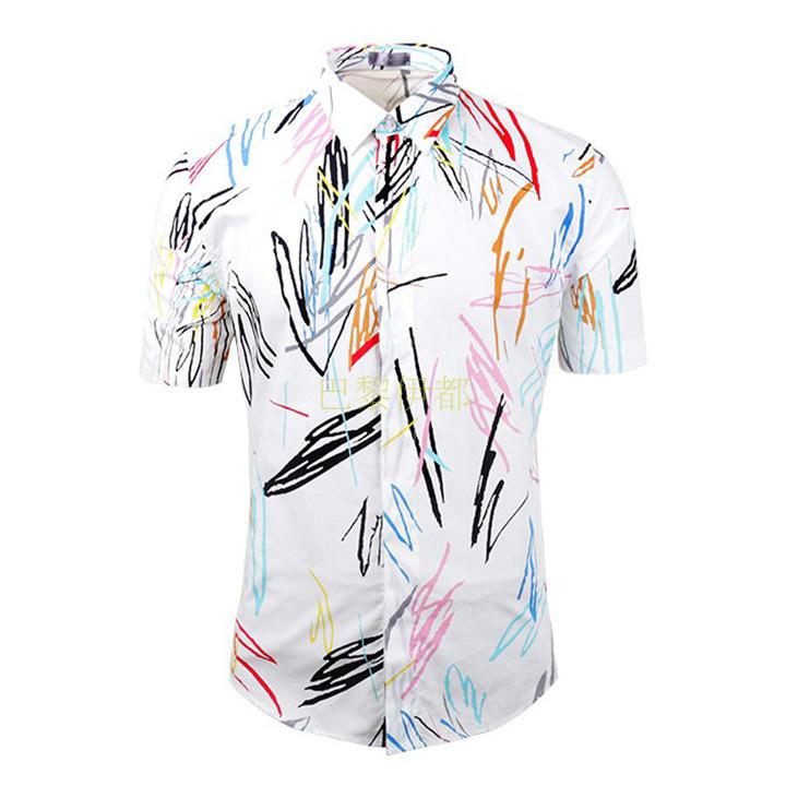 เสื้อเชิ้ตแขนสั้น Dior Homme เกรด Hi-end