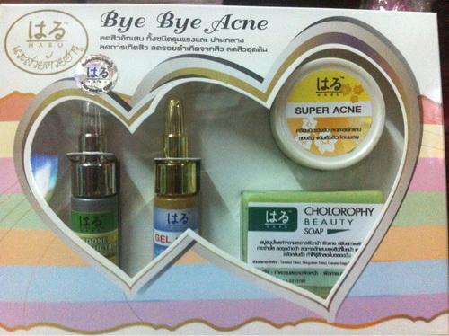 ฮารุ Bye Bye Acn ผลิตภัณฑ์ลดการเกิดสิว