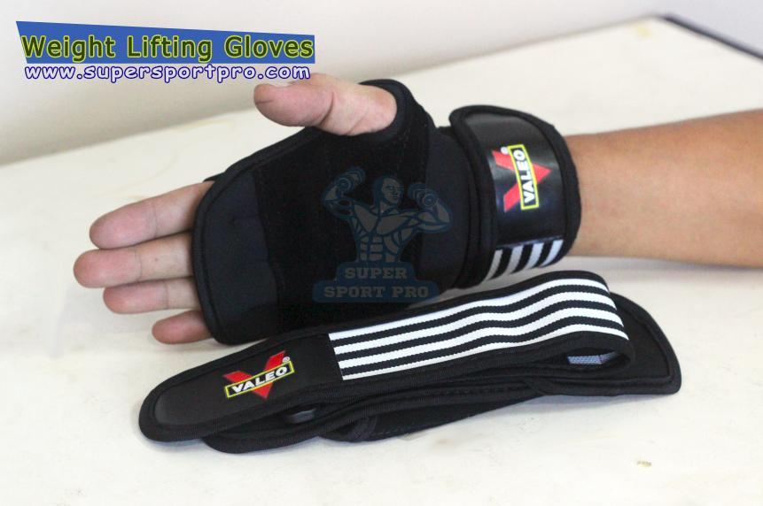 ขาย ถุงมือยกน้ำหนัก Valeo Weight Lifting Gloves