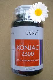 CORE Konjac Z600 100's