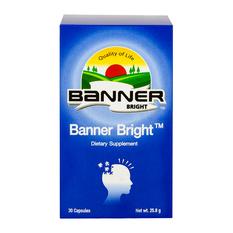 Banner Bright แบนเนอร์ไบรท์ 100 แคปซูล