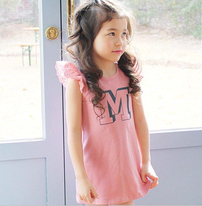 **เสื้อตัวยาว M สีชมพู | ชมพู | 100-140 | 5ชุด/แพ๊ค | เฉลี่ย 150/ชุด