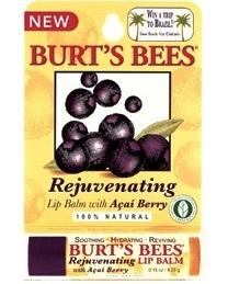 BURT'S BEES :: Burt's bee Rejuvenating Lip Balm with Açaí Berry บำรุง คืนความอ่อนเยาว์ให้ริมฝีปากคุณด้วย อาซายอี