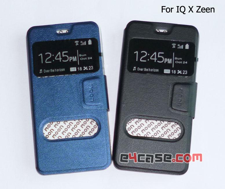 เคส IQ X Zeen (i-mobile) - moon เคสพับโชว์เบอร์