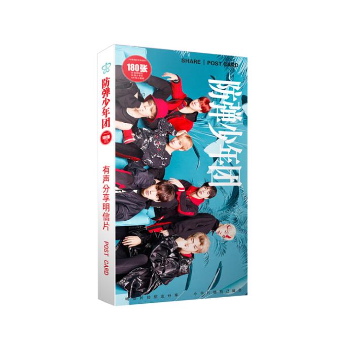KBTO5 โปสการ์ด BTS ของแฟนเมด ติ่งเกาหลี 1 กล่องบรรจุ 30 แผ่น อัลบั๊ม face your self