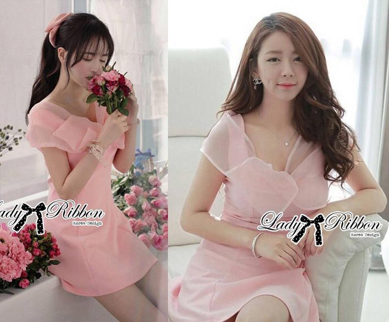 DR-LR-085 Lady Jane Sweet Delicate Ribbon Dress