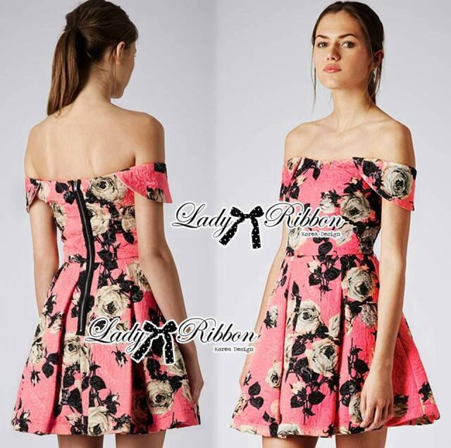 Lady Rose Sweet Pink Mini Dress L121-79C02