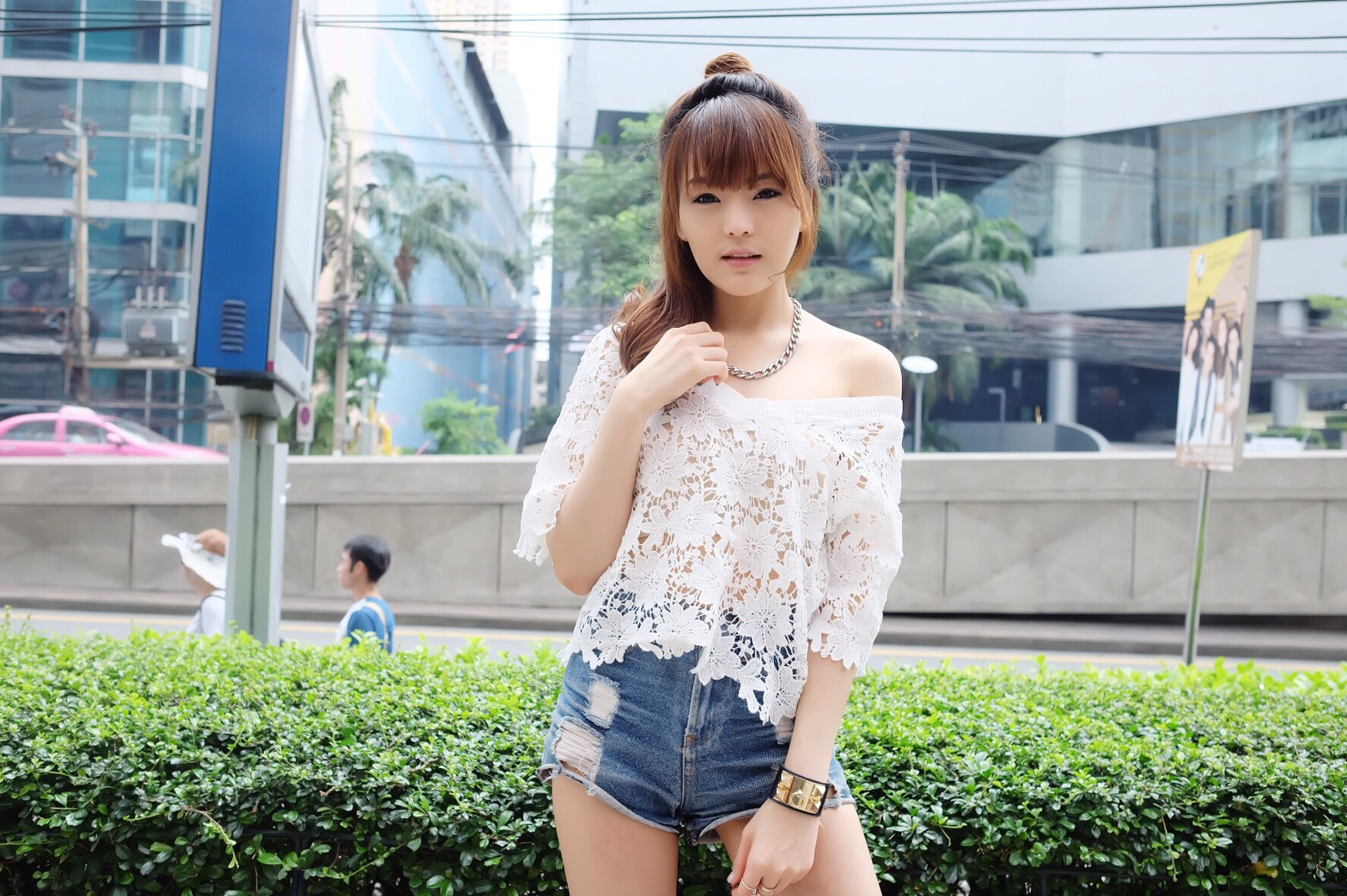 V Very Lace Blouse