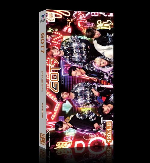 KGTO13 โปสการ์ด GOT7 ของแฟนเมด ติ่งเกาหลี 1 กล่องบรรจุ 30 แผ่น