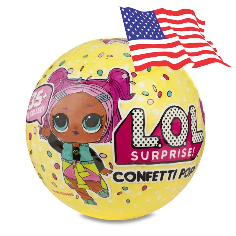 LA021 (งานแท้) LOL Surprise Doll Series 3 Confetti POP 9 SURPRISE ตุ๊กตาเซอร์ไพร์ส 9 ชั้น